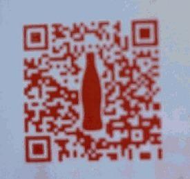 QR kód Coca Cola